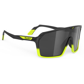 Rudy Project Spinshield Brille black/yellow fluo matte/smoke black